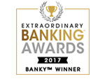 Extraordinary Banking Awards 2017 Banky Winner