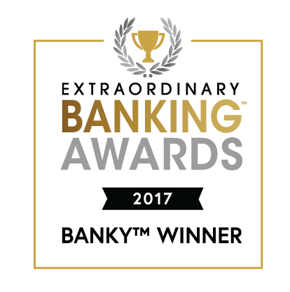 Extraordinary Banking Awards Winner 2017