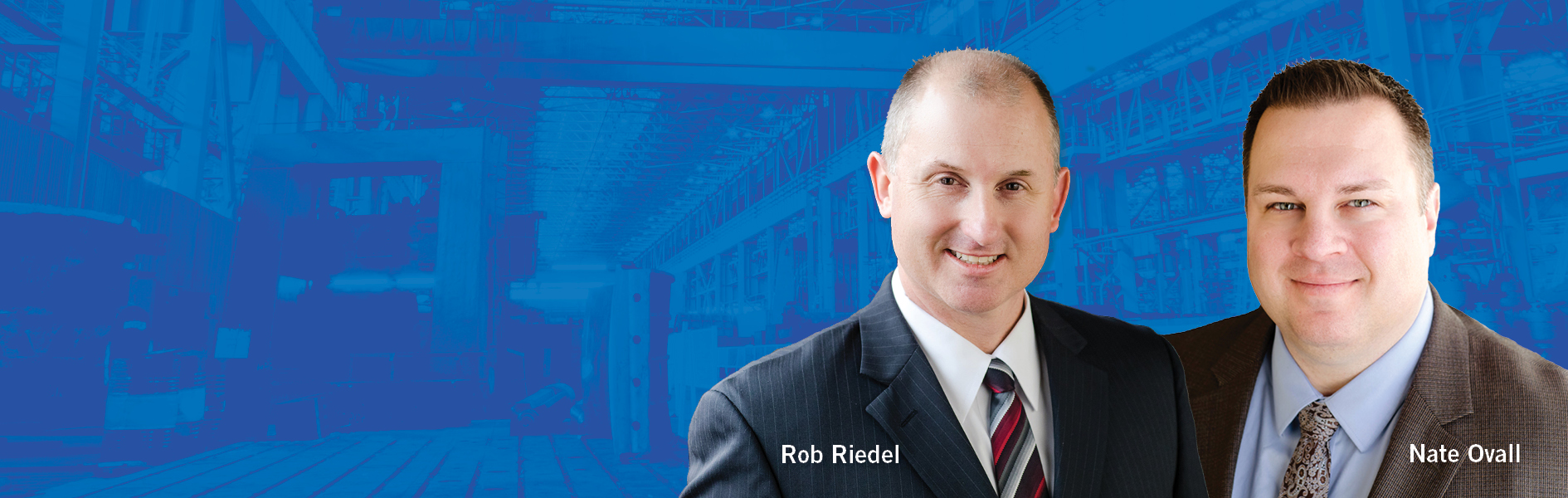Commercial Lenders Rob Riedel and Nate Ovall
