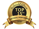 Seifried & Brew Top 15th Optimal Performance Award 2016