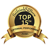 Seifried & Brew Top Performer of 2016