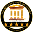 Image of Bauer Financial Seal. Our institution is rated 5-stars by Bauer Financial. Awarded January 2019.